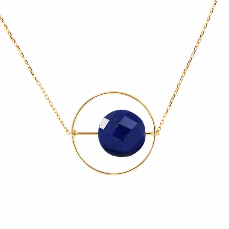 Collier Petit Regard interchangeable Lapis Lazuli