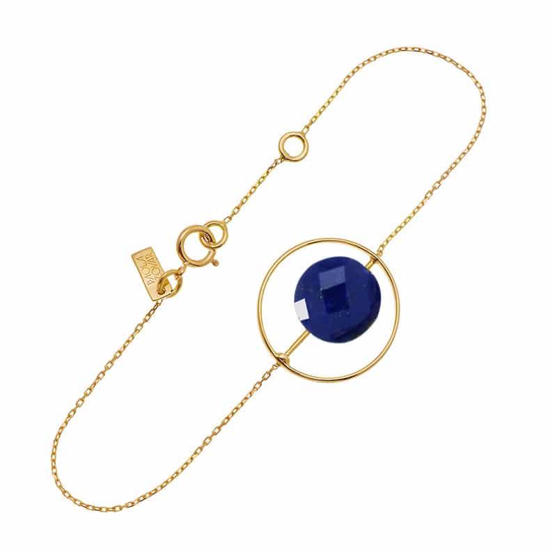 Bracelet Petit Regard interchangeable Lapis Lazuli