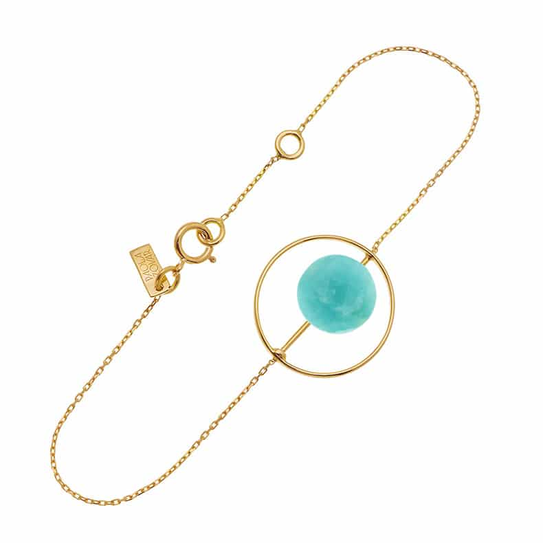 Bracelet Petit Regard interchangeable Amazonite