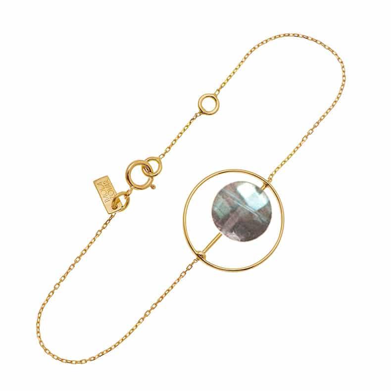 Bracelet Petit Regard interchangeable Labradorite