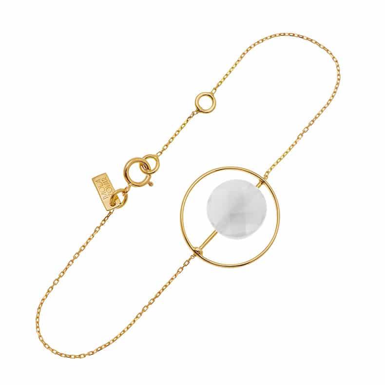 Bracelet Petit Regard interchangeable PdL grise