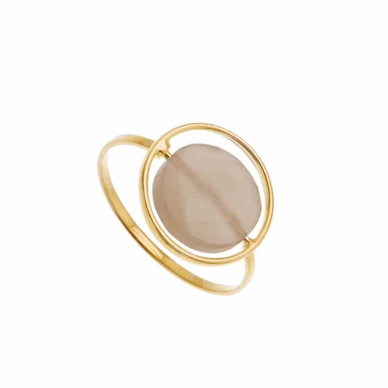 Bague Petit Regard interchangeable PdL chocolat
