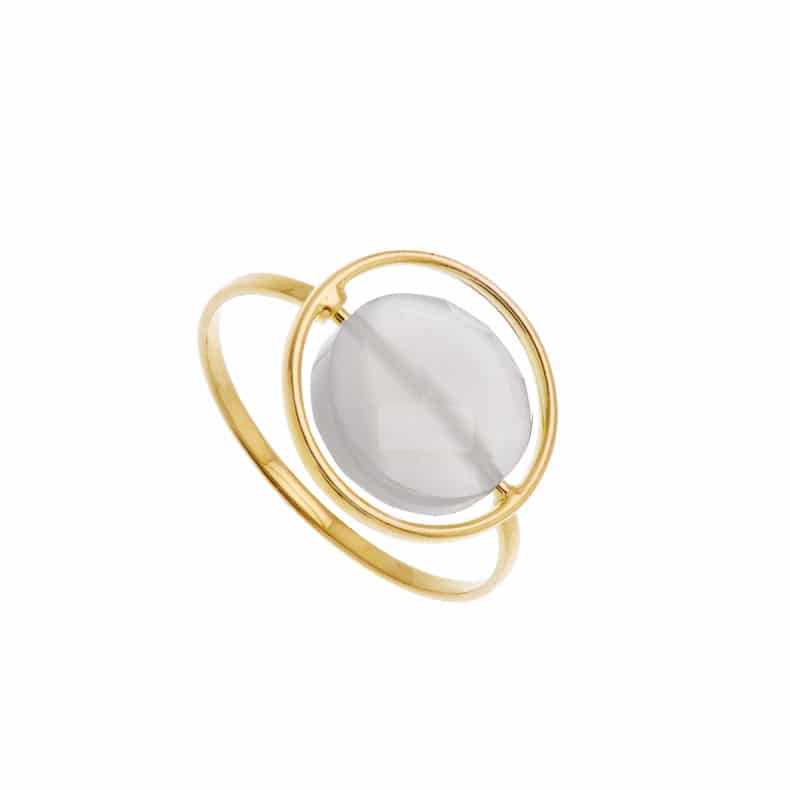Bague Petit Regard interchangeable PdL grise