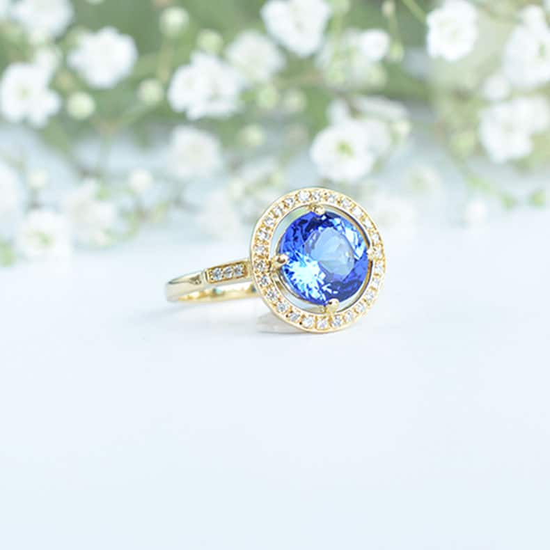 Bague Joe Tanzanite