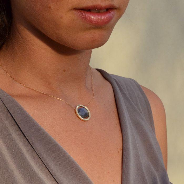 collier Grand Regard Diamants