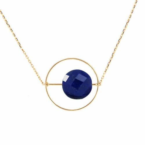 Collier Petit Regard interchangeable Lapis Lazuli